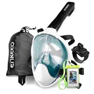 Amazon - Enkeeo 180 Seaview Full Face Snorkel Mask