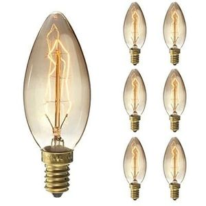 Amazon glitch!6xE14 Bulbs 25W Filament bulbs Warm White