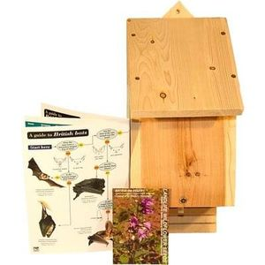 Win a Bat Lover Gift Pack including an extra Natural Timber Bat Box