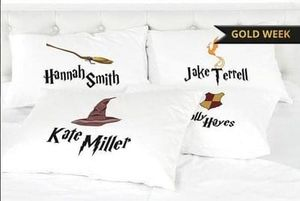 Personalised Harry Potter Pillow Case