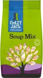 2 x Crazy Jack Organic Soup Mix 175g