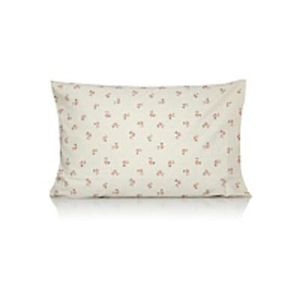 Floral print pillowcase pair