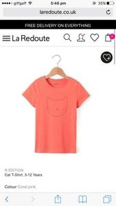 £1.80 girls tshirt! Free delivery