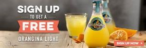 SIGN UP FOR A FREE ORANGINA LIGHT at Harvester