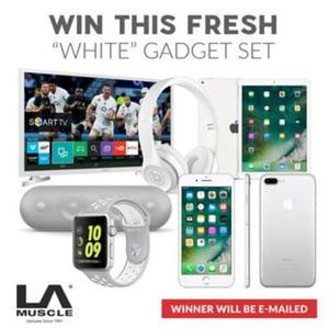 Win This Fresh Luxury 'White' Gadget Set Worth Over £3500