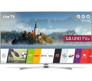 """LG 43"""" Smart 4K Ultra HD HDR LED TV Save £300 Free Delivery & C+C"""