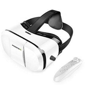 Virtual Reality Headset with Bluetooth Remote (Prime Delivery)