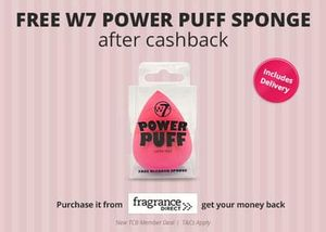 Free power puff sponge