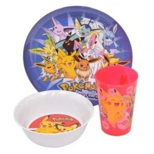 Pokemon 3PC Dinnerware Set £3.19 Delivered