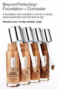 10 day Clinique Foundation + Concealer sample