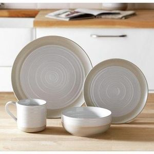 Heart of House Purton 16 Piece Stoneware Dinner Set Save £8 Free C+C