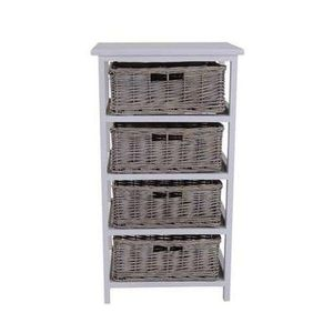 Willow 4 Drawer Tower *HALF PRICE* Free C+C