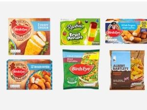 COOP £5 frozen meal deal for 4 people