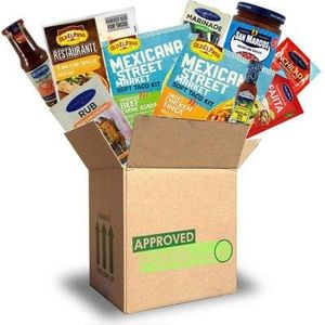 Approved foods Tex Mex box