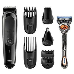 Braun MGK3060 Multi Grooming Kit - 8-in-one beard and hair trimming kit