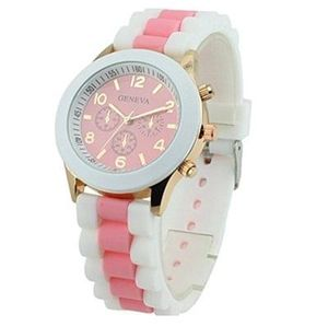 Women's Silicone Band Jelly Gel Quartz Watch. Free Delivery
