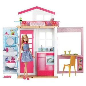 BARGAIN BUY: Barbie 2-Storey House & Doll - ARGOS LOWEST EVER PRICE