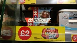 FREE baking tin at Iceland