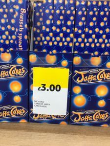 Where Can I Get A Yard Of Jaffa Cakes