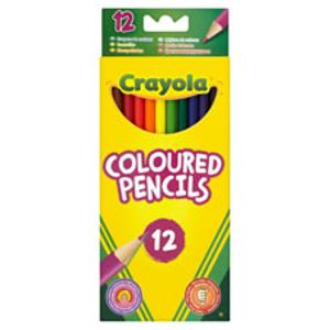 Crayola Coloured Pencils 12pk Free C&C