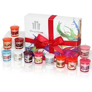 12 Fragranced Candles Gift Set