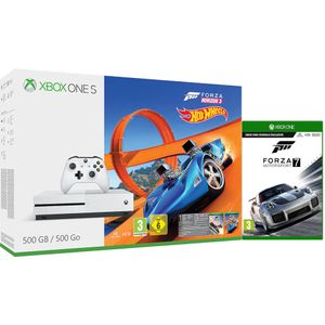 Xbox One S 500GB Console - Forza Horizon 3, Hot Wheels & Forza 7 Free Delivery