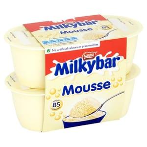 Nestle Milkybar Mousse 4 X55g
