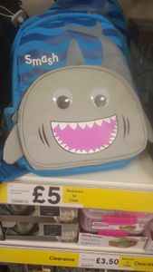 Shark Packed Lunch Box - Instore Liverpool Tesco