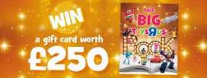 Win s gift card from Toys R Us