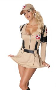 Women's Ghostbusters Fancy Dress Costume - Size 12-14 at Argos ebay