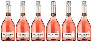 JP Chenet Light Sparkling Rose Wine 75 cl (Case of 6)