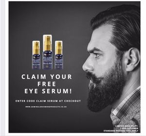 Claim your FREE Anti-Ageing Eye Serum with code.