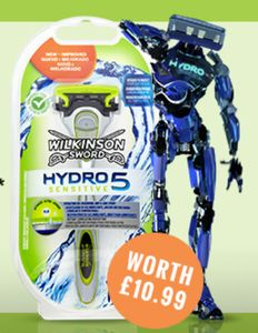 Free Wilkinson Sword Razor (Worth £10.99) with Any Order