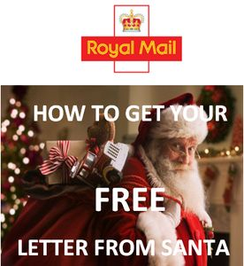 How to get a free letter from santa this christmas 2017 via royal how to get a free letter from santa this christmas 2017 via royal mail spiritdancerdesigns Images