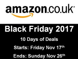 When Does Amazon Black Friday Sale Start This Year? 2017 UK Dates and Times?