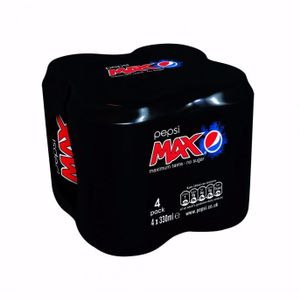 4 Cans of Pepsi Max