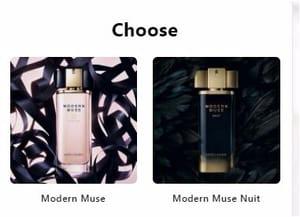 Free Modern Muse Perfume Sample