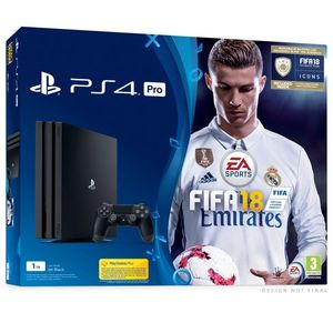 SAVE £40. Playstation 4 Pro 1TB FIFA 18 BUNDLE