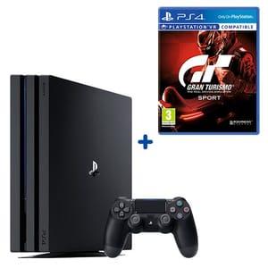 PS4 Pro 1TB Console & Gran Turismo Sport (Offer Ends 20th November)