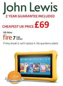 SAVE £30.99 Amazon Fire 7 Kids Edition - CHEAPEST BLACK FRIDAY PRICE!