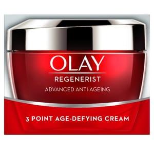 Olay Regenerist 3 Point Anti-Aging Day Cream 50Ml at Tesco