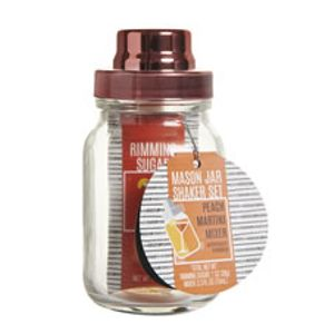 wilko mason jar with peach martini mixer 2 latestdeals. Black Bedroom Furniture Sets. Home Design Ideas