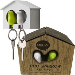 Cute Little Bird House Key Holder