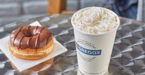 FREE FLAVOURED COFFEE @Greggs Rewards App