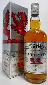 Whyte and Mackay 13 Year Old Blended Scotch Whisky 70 Cl