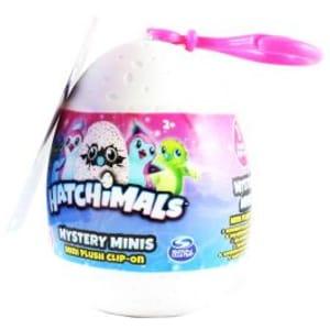Hatchimals Mystery Minis Mini Plush Toy Clip on
