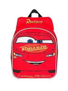 Disney Cars Cars 3 Embrioded Plush Front Backpack
