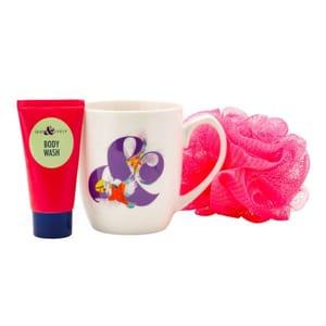 Superdrug Leafy & Lovely Mug and Toiletry Gift Set Free C&C