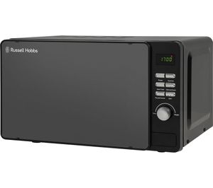 RUSSELL HOBBS Compact Solo Cheap Microwave - Black