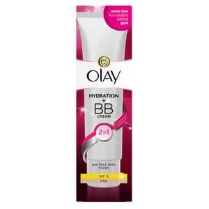 Olay 2in1 Hydration + BB Cream Fair Moisturiser SPF15 50ml